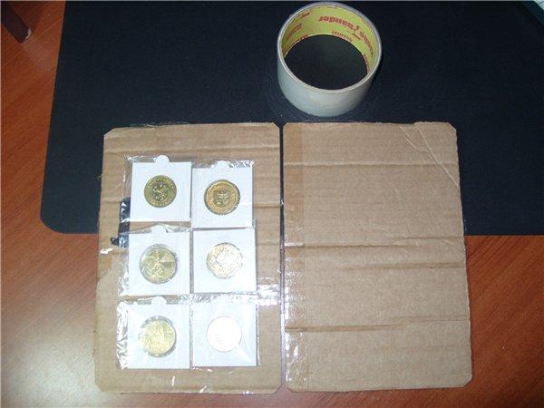 Как упаковать монеты в подарок